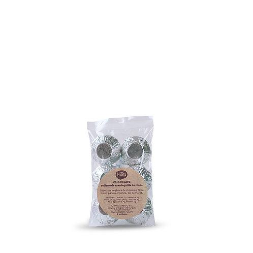 Chocolates rellenos de Maní - Pack x 6 Unidades