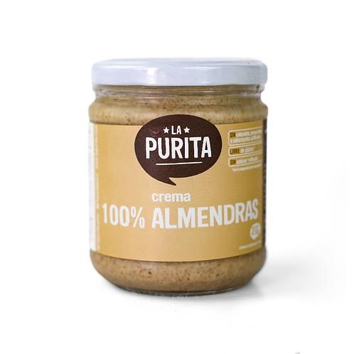 Crema 100% Almendras 410g