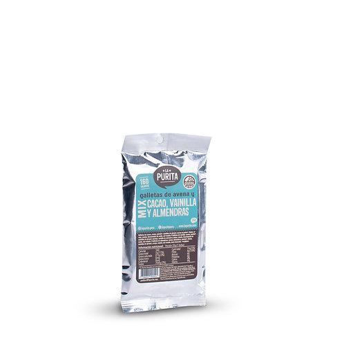 Galletas de avena mix (Cacao, Vainilla y Almendras) 35g x 6