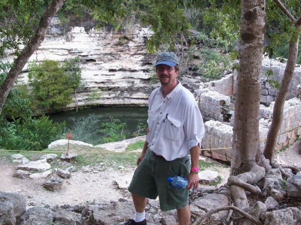 At the Well of Souls, Chicen Itza, Mexico