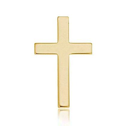 14k Yellow Cross