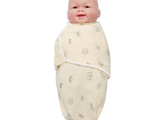 OEKO-TEX certified Dylan NEWBORN 100% cotton Swaddle Blanket Wrap (2 pieces set)