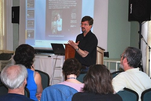 Speaking at the 2009 IRAS Conference
