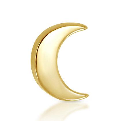 14k Yellow Moon