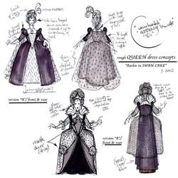 The QUEEN  (costume)