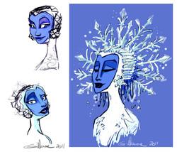 Snow Queen Visual Development