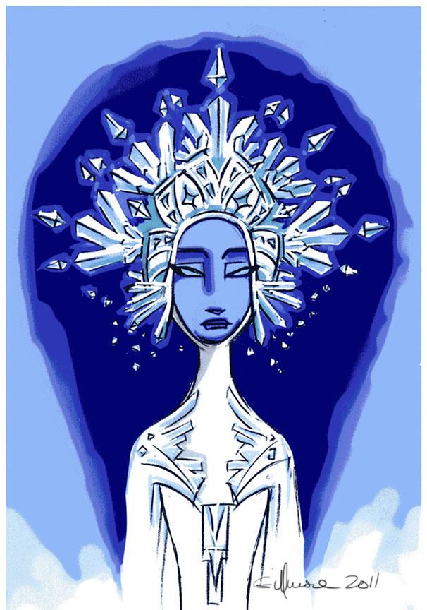 SnowQueen ice headdress 1