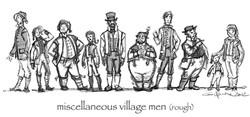 Arendelle Village Men