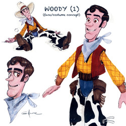 Pull-string toy WOODY (1)
