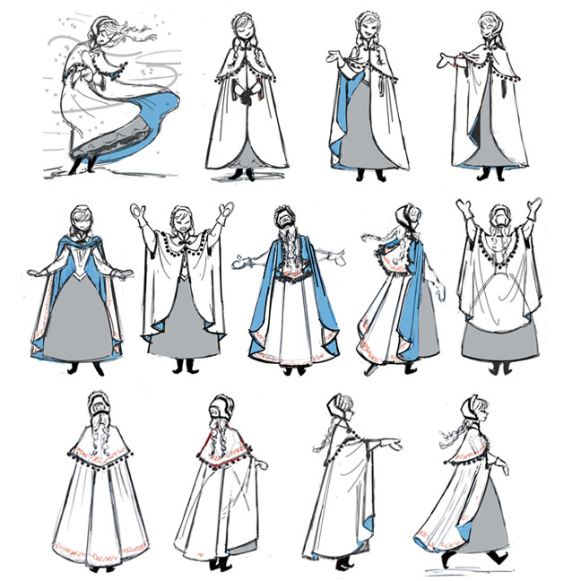 Anna Traveling Cloak ACTION