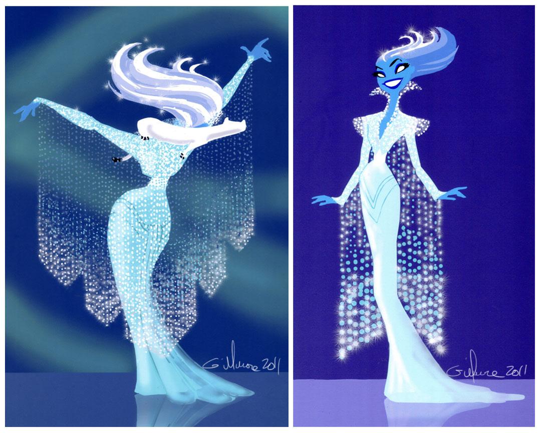 Snow Queen_Crystal Drape