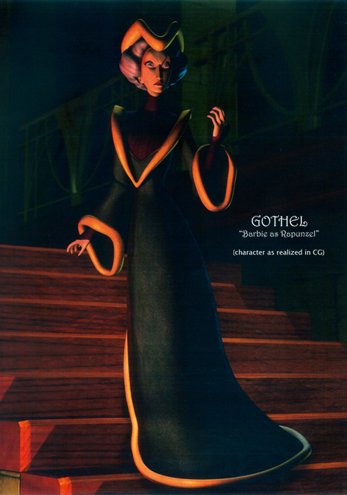 Sorceress GOTHEL  (CG version)