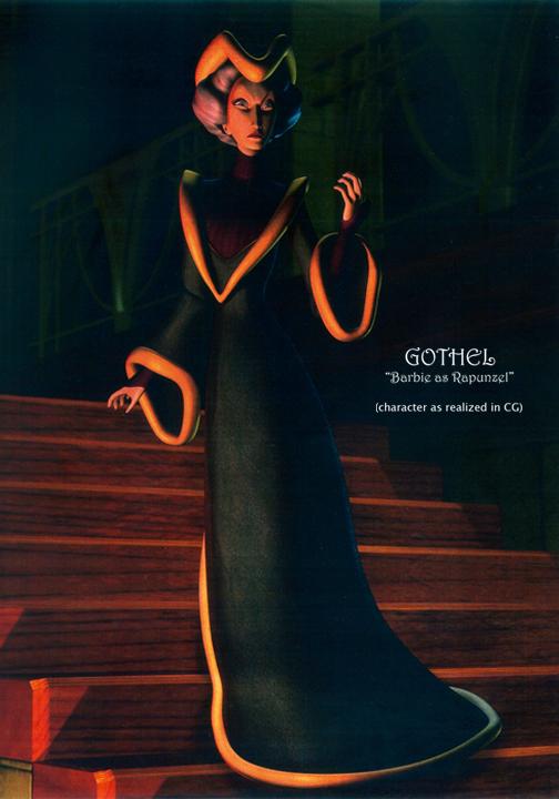 Sorceress GOTHEL  (CG version)