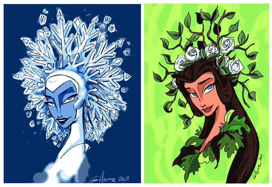 Winter/Spring Contrast
