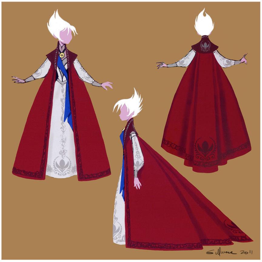 Elsa Coronation Gown/Cape