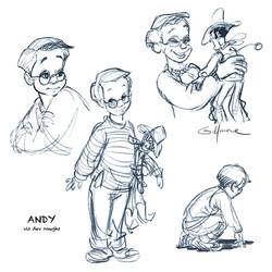 ANDY DAVIS (Woody's owner)