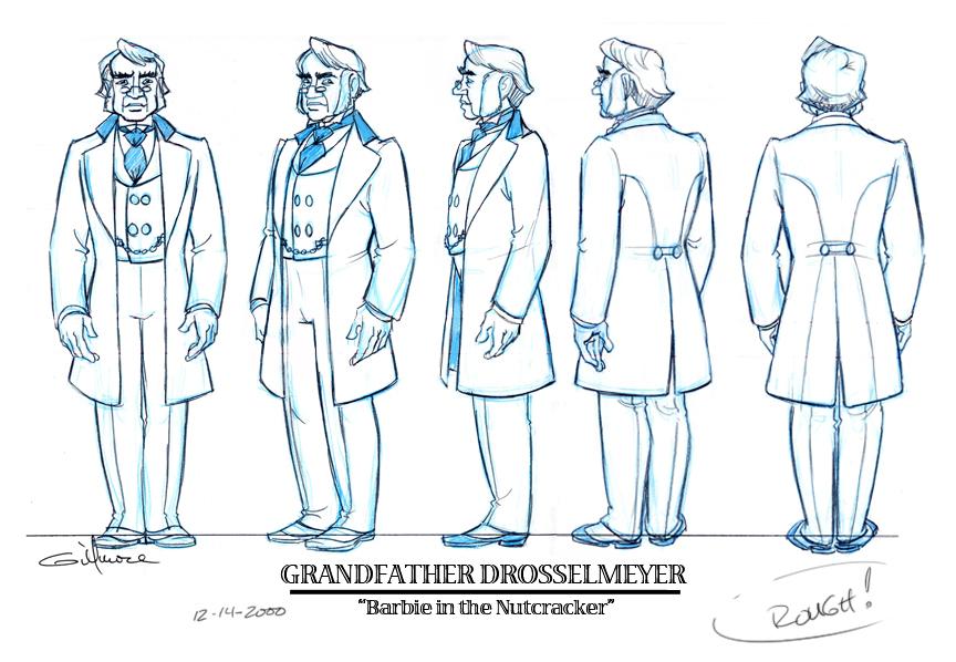 GRANDFATHER Drosselmeyer