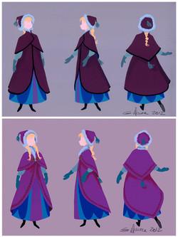 Anna Traveling Cloak
