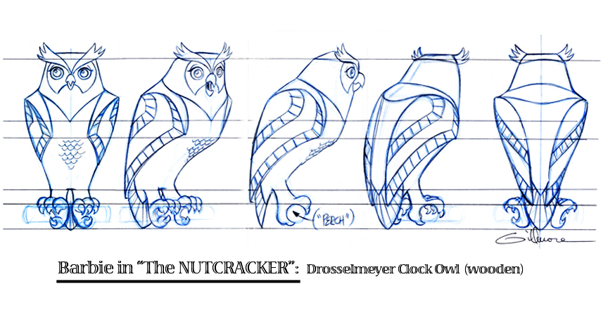 Clock Owl  (turn)