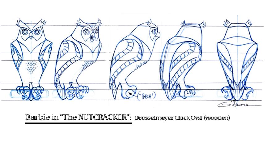 Clock Owl  (turn)
