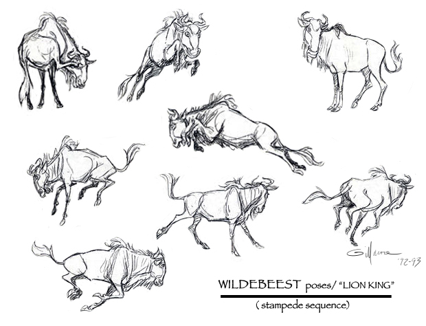 WILDEBEEST Poses