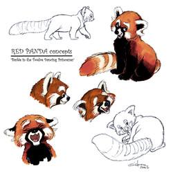 Red Panda (visual development)