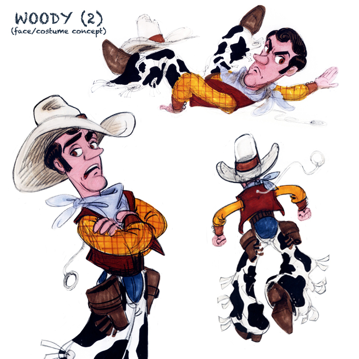Pull-string toy WOODY (2)