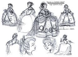 Odette's Mother, The QUEEN