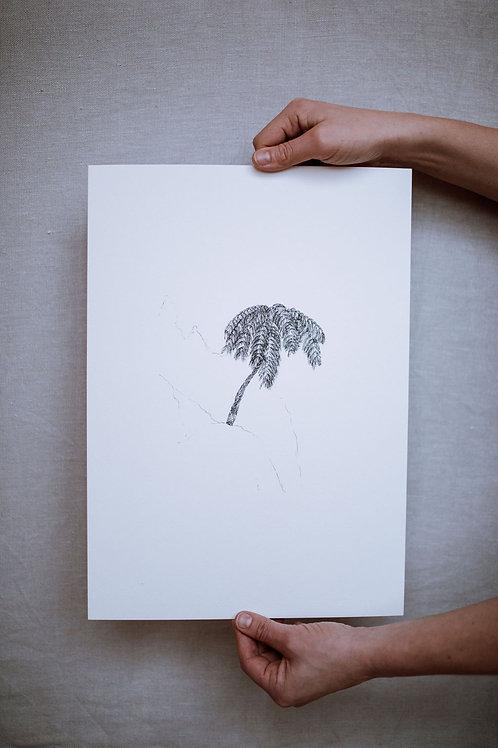 Art Print - FERN TREE
