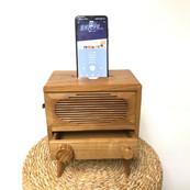 Radio wood style