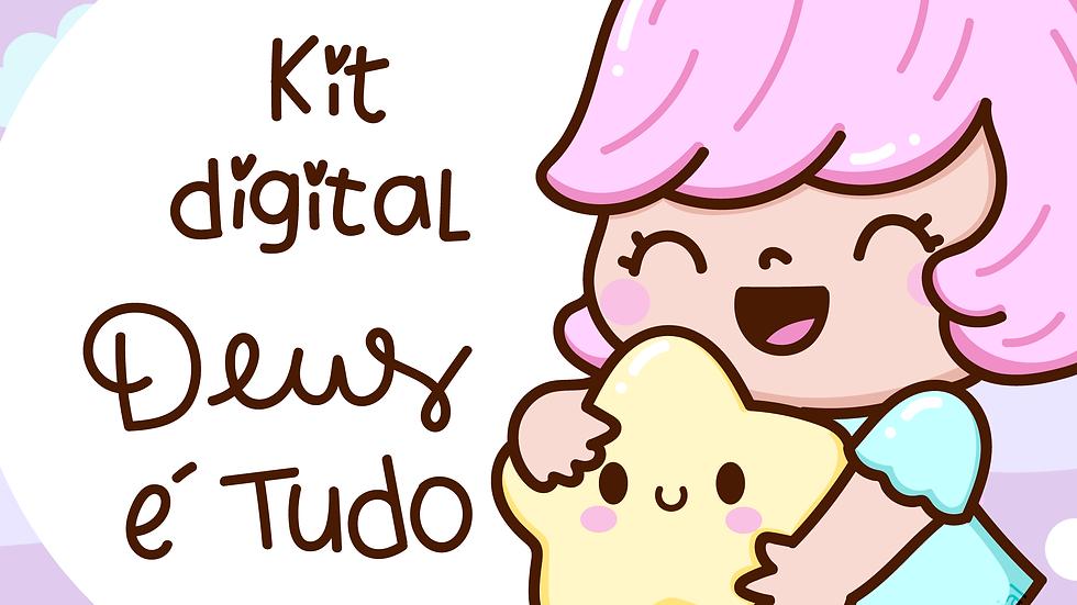 Kit digital Deus é Tudo