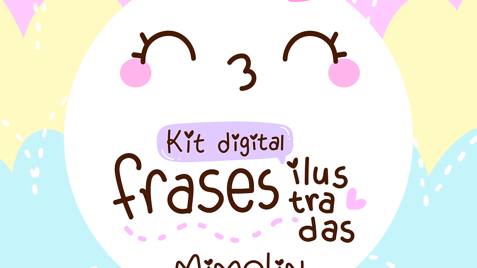 Kit digital Frases ilustradas