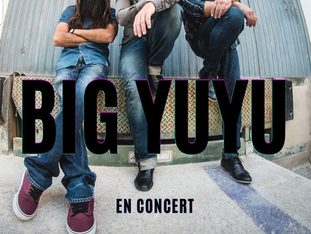 17/01/2021 - BIG YUYU (Concert de música)