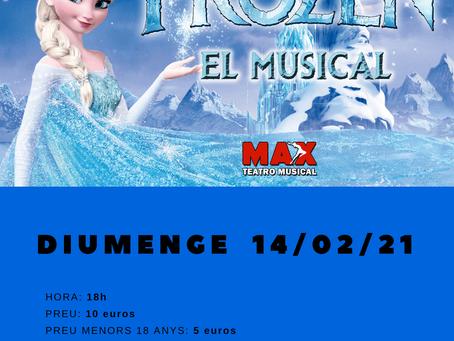 14/02/2021 - FROZEN, EL MUSICAL