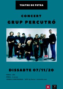 7/11/2020 - CONCERT GRUP PERCUTRÓ