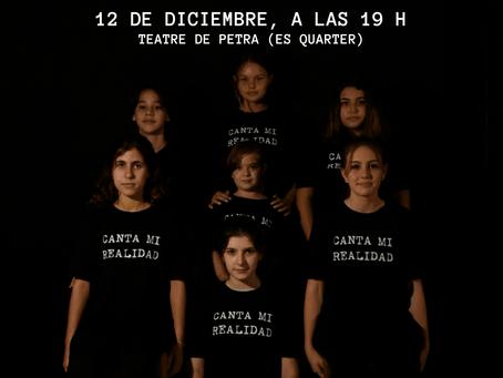 12/12/2020 - CANTA MI REALIDAD, a benefici de l'Associació Espanyola Contra el Càncer