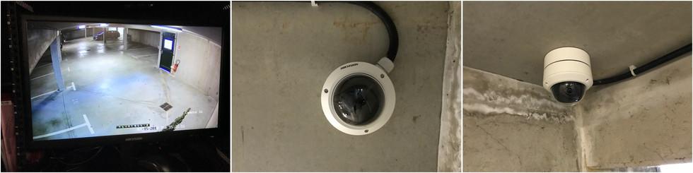 Vidéos Surveillance - Caméras et Ecran de controle