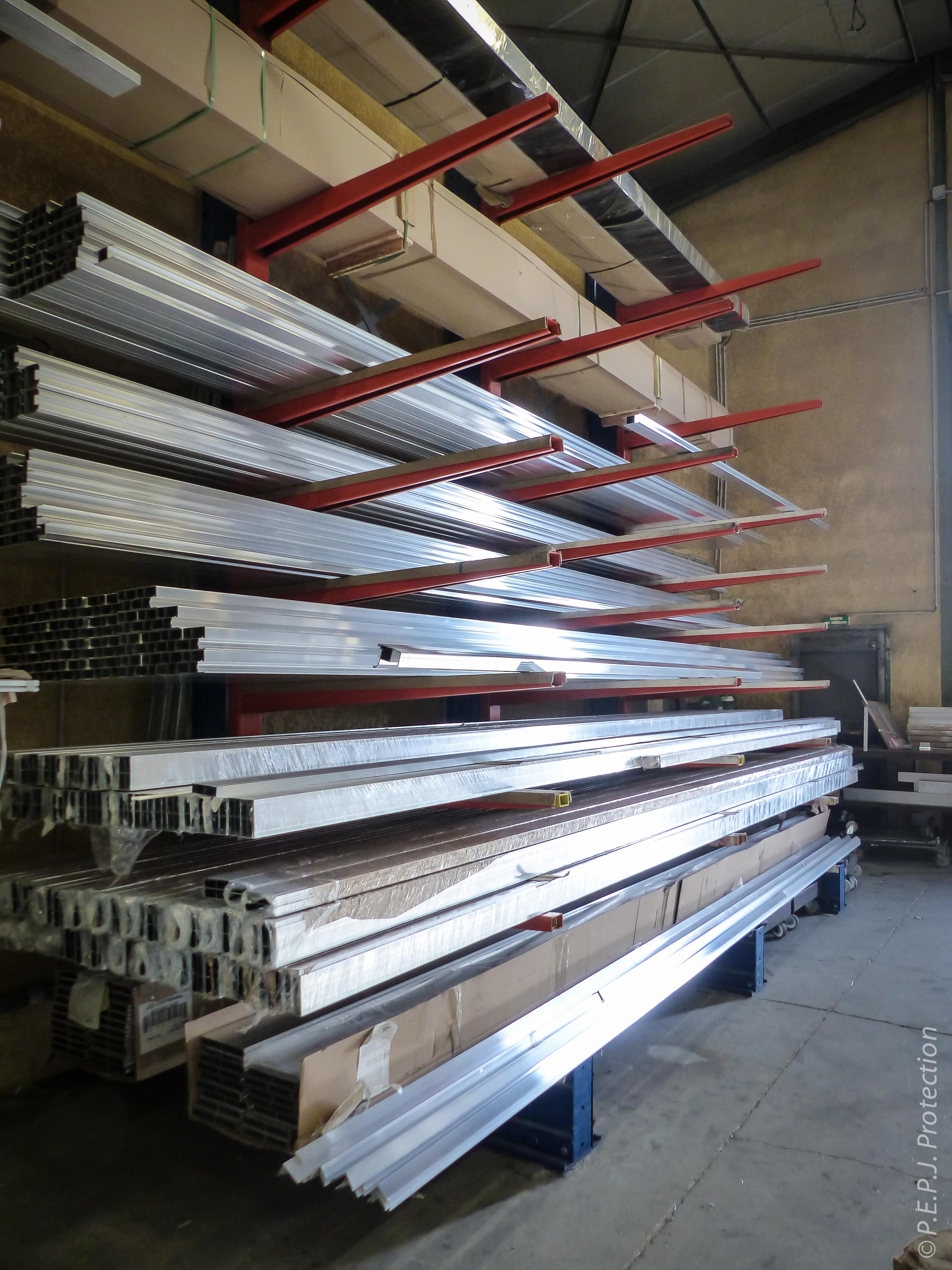 PEPJ Protection portail aluminium