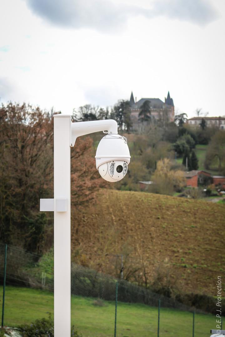 Vidéos Surveillances - Dome Motorisé