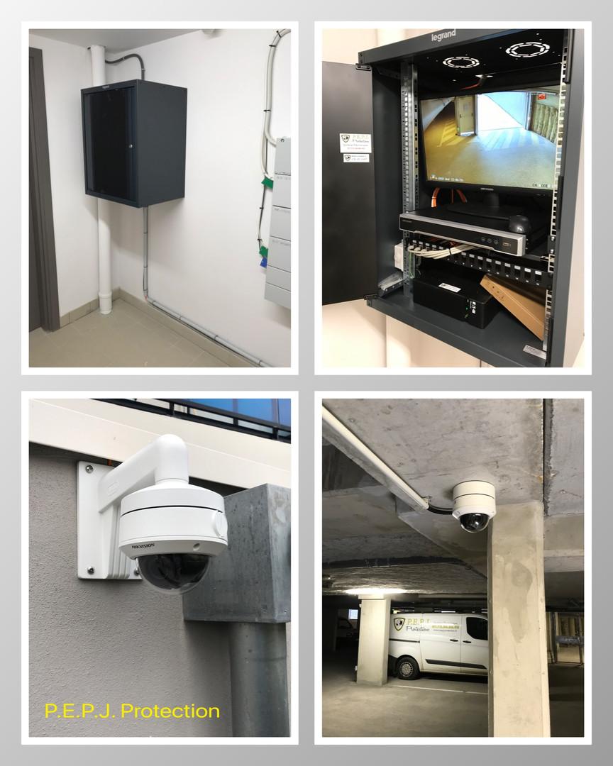 Vidéo-surveillance, caméra parking