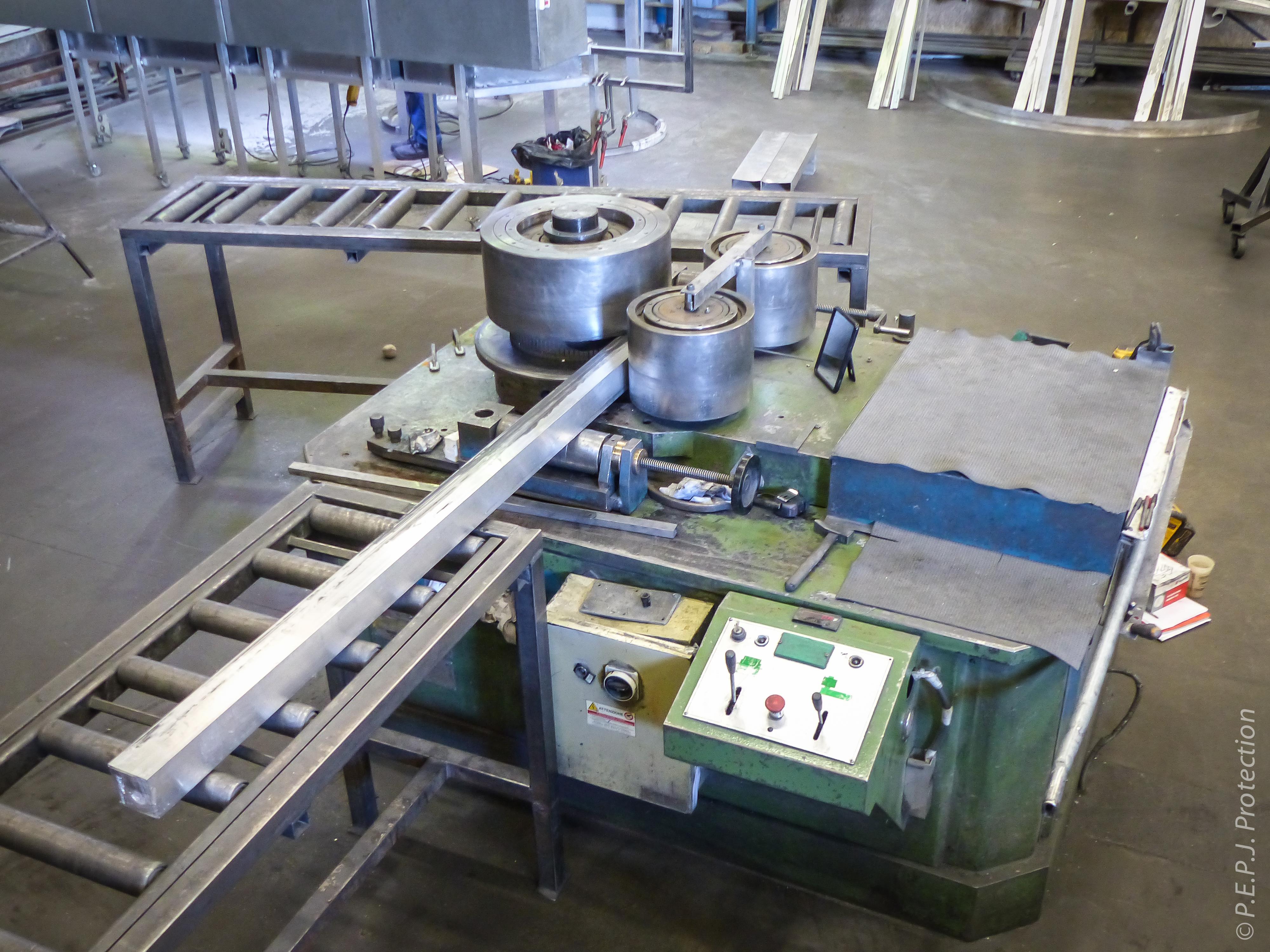 PEPJ Protection Cintrage Aluminium