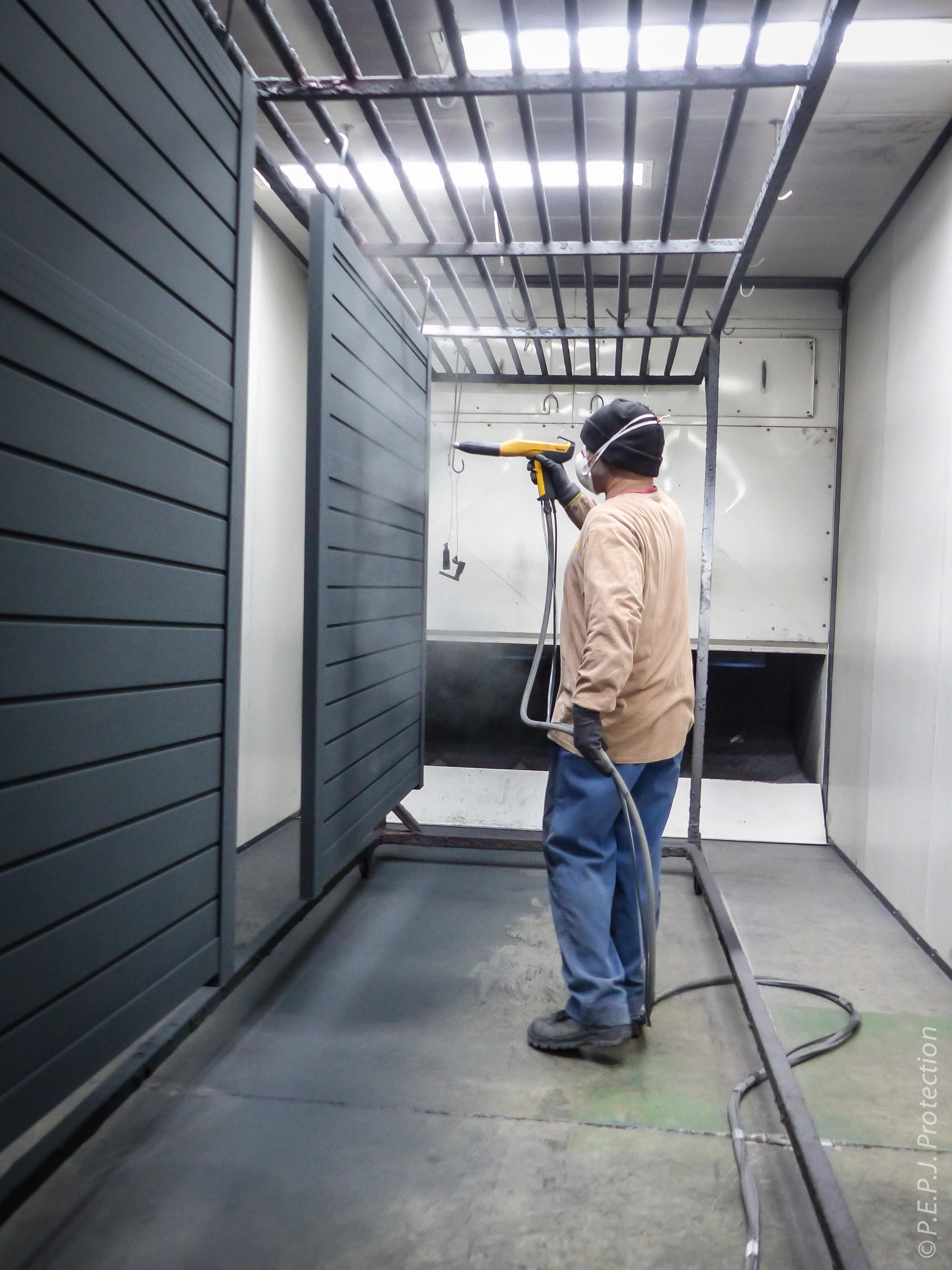 PEPJ Protection Atelier portail