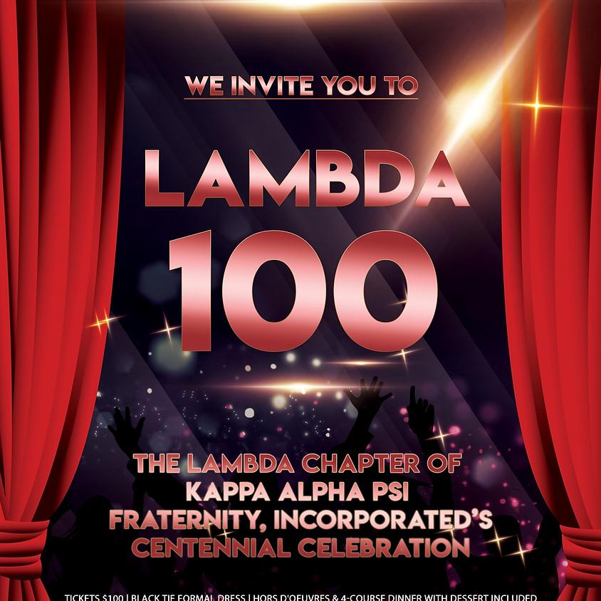 Lambda Chapter Centennial Scholarship Ball