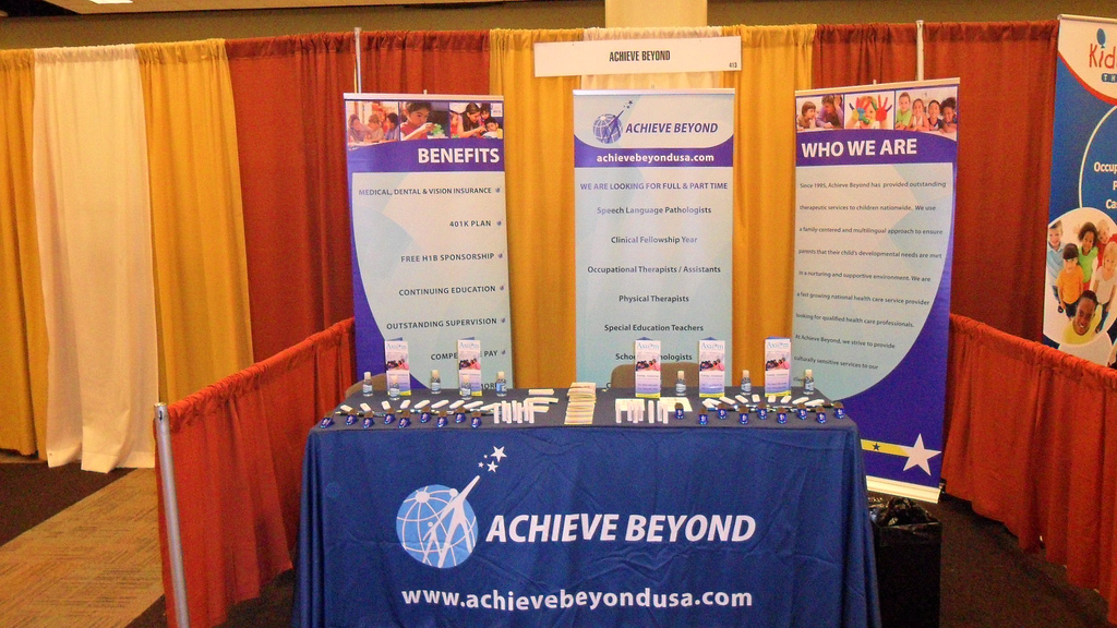 Achieve Beyond Trade Show Display