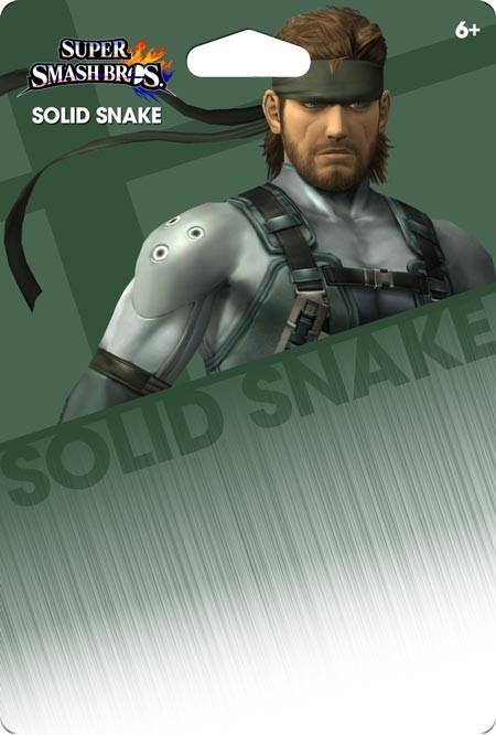 Solid Snake custom nintendo amiibo