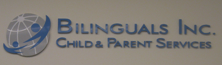 Bilinguals Inc Office Signage