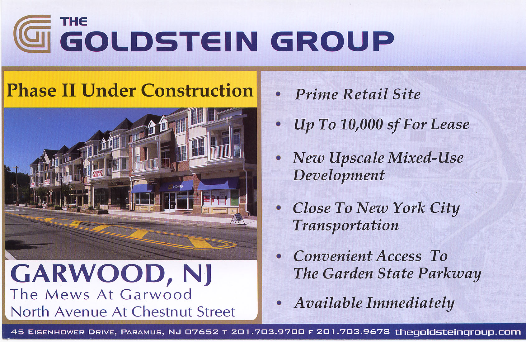 Goldstein Group Direct Mail Postcard