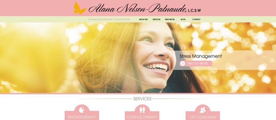 Social Worker Website Design