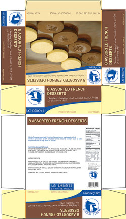 Dessert Packaging Design