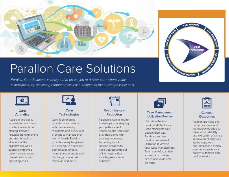 Parallon Brochure Design